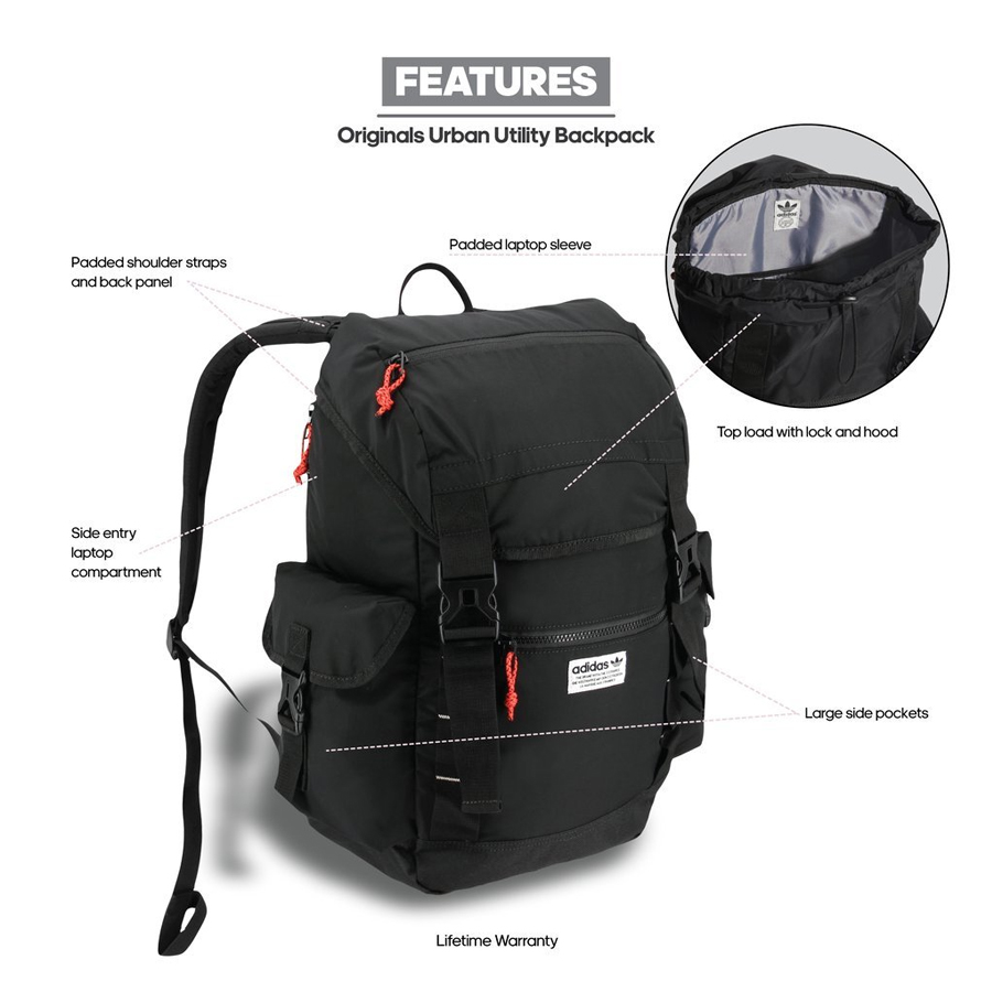 Adidas Originals Urban Utility Backpack 1