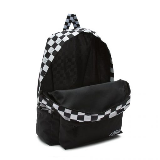 Sporty Realm Backpack Black Checler1