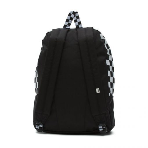 Sporty Realm Backpack Black Checler2