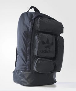 Adidas Originals Multi Pocket Backpack In Black 8