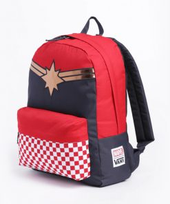 Captain Marvel Realm Backpack Racing Red 1