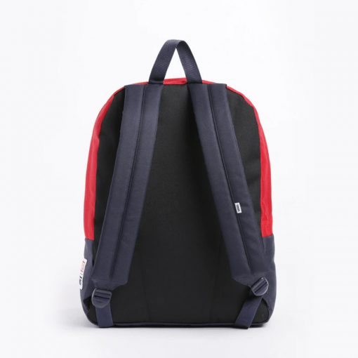 Captain Marvel Realm Backpack Racing Red 3