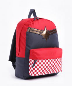 Captain Marvel Realm Backpack Racing Red 4