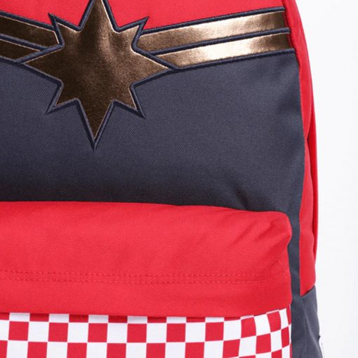 Captain Marvel Realm Backpack Racing Red 8