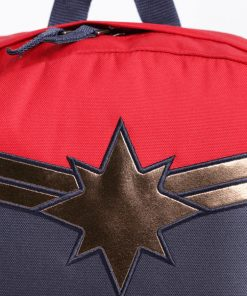 Captain Marvel Realm Backpack Racing Red 9
