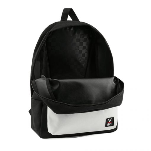Vans Logo Backpack Black1