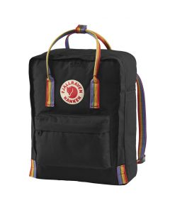 Kanken Rainbow Blackrainbow Pattern Fjallraven (1)