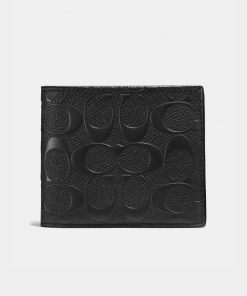 3 In 1 Wallet In Signature Leather 1 2