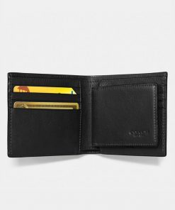 Compact Id Wallet Black 2